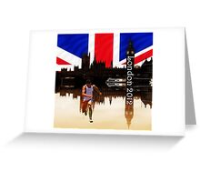 London Olympics 2012 Greeting Card