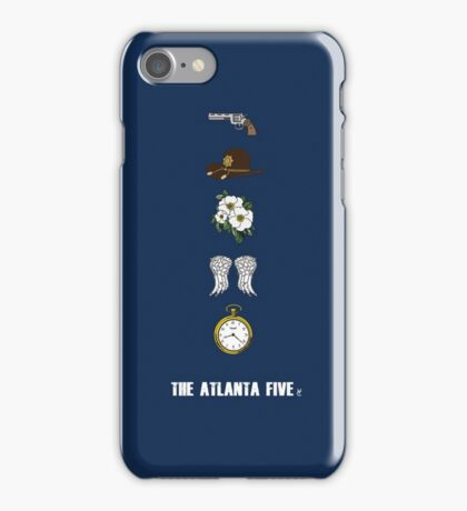 The Atlanta Five  iPhone Case/Skin