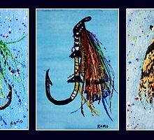 Fishing Lures by Robin Monroe