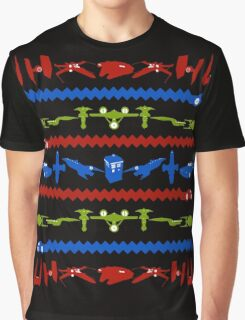 Happy Geeksmas Ugly Sweater  Graphic T-Shirt