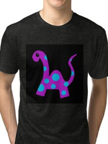 Dippy the Dinosaur Tri-blend T-Shirt