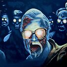 Zombie George A. Romero by Ken Eccles