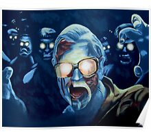 Zombie George A. Romero Poster