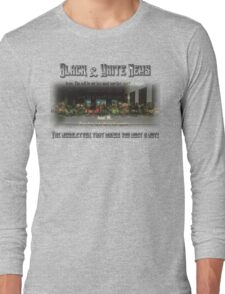 The Black & White Last Supper Long Sleeve T-Shirt