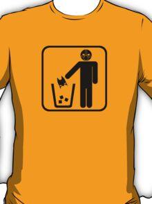 Keep Gotham Clean - Black T-Shirt