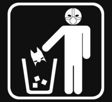 Keep Gotham Clean - White T-Shirt