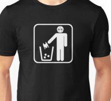 Keep Gotham Clean - White Unisex T-Shirt