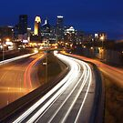 MPLS City Sky Line by Tina Hailey