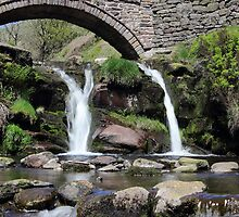Three Shires Head Waterfall by John Dunbar