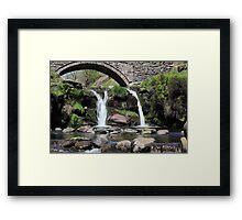 Three Shires Head Waterfall Framed Print