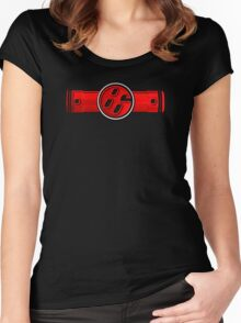 FR-S Pistons GT 86 Red Women's Fitted Scoop T-Shirt