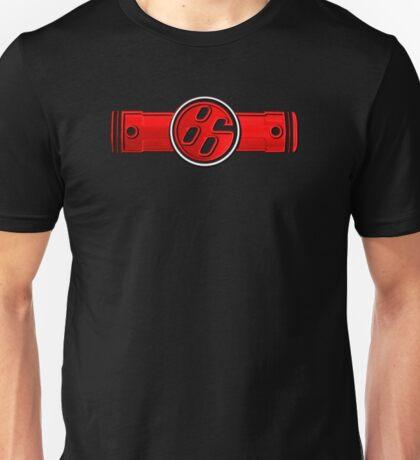 FR-S Pistons GT 86 Red Unisex T-Shirt