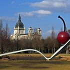 Basilica & Sculpture Garden by Tina Hailey