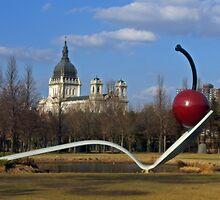 Basilica & Sculpture Garden by Tina Hailey