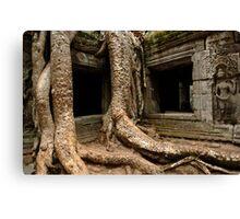 Ta Prohm Angkor Wat Cambodia Canvas Print