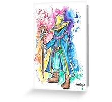 Epic Darkmage Watercolor Tshirts + More! ' Final fantasy ' Jonny2may Greeting Card
