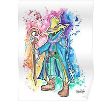 Epic Darkmage Watercolor Tshirts + More! ' Final fantasy ' Jonny2may Poster