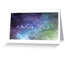 tylerdambrosia Banner Greeting Card
