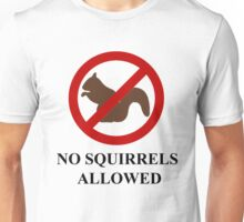 NO SQUIRRELS ALLOWED - Teesside Drifting Unisex T-Shirt