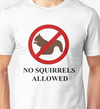 NO SQUIRRELS ALLOWED - Teesside Drifting Unisex T-Shirt