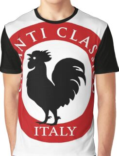Black Rooster Italy Chianti Classico  Graphic T-Shirt