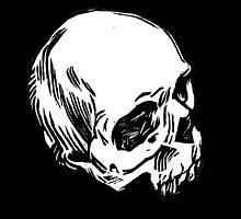 Block Skull by Amanda Zito
