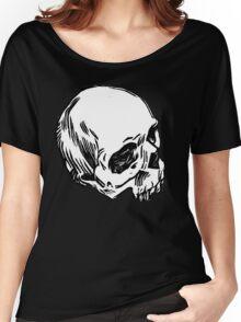 Block Skull Women's Relaxed Fit T-Shirt