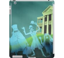 Haunted Mansion Haunted House Hitch Hiking Ghosts iPad Case/Skin