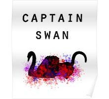 captain swan - ouat Poster