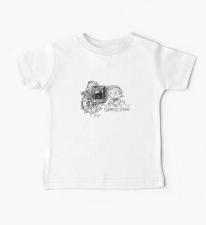 The Closing Scene - Black Ink Baby Tee