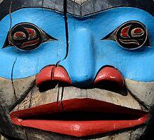 Haida Mask 1 by Bob Christopher