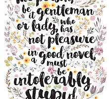 Jane Austen - Intolerably Stupid by evieseo