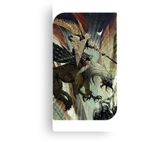 Dragon Age Inquisition-Blackwall Tarot Card Canvas Print
