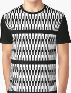 Intertwined Pegs Graphic T-Shirt