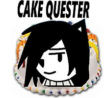 Cake Quest Episode IV A New Cake Photographic Print