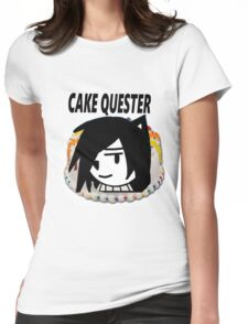 Cake Quest Episode IV A New Cake Womens Fitted T-Shirt