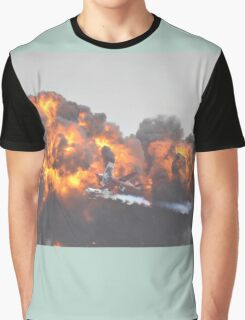 Wall Of Flame,Avalon Airshow,Australia 2015  Graphic T-Shirt