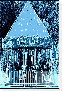Moonlight Carousel  by Jean Gregory  Evans