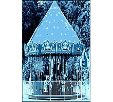 Moonlight Carousel  Photographic Print
