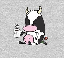Cow with Coffee Unisex T-Shirt