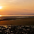 Sunset- Allonby Beach by Lou Wilson