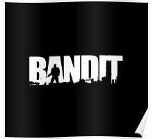 DayZ: Bandit - White Ink Poster