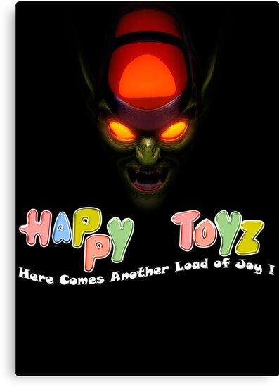 Happy Toyz (Alternate) by joshjen10