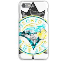BLUE JAYS WHITE iPhone Case/Skin