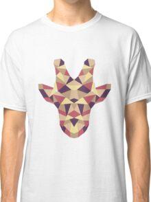 Polygonal Giraffe Classic T-Shirt