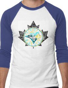 BLUE JAYS WHITE Men's Baseball ¾ T-Shirt