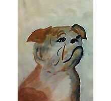 Pepe, my for always bud, watercolor Photographic Print