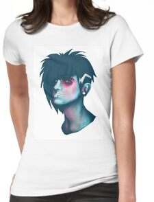 Contemporary Zombie Punk Womens Fitted T-Shirt
