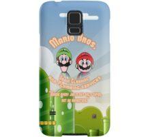 Mario Bros. Drain Cleaning & Plumbing Service Samsung Galaxy Case/Skin
