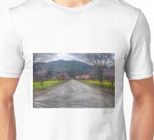 Napa Vineyard Road Unisex T-Shirt